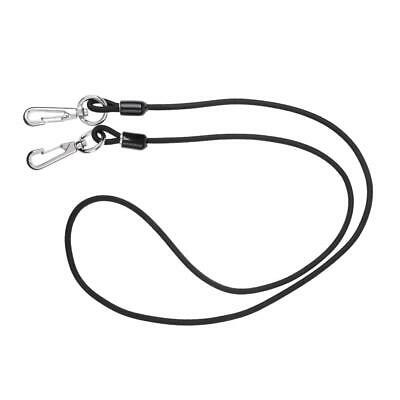 3.3ft Kayak Coiled Bungee Paddle Leash Cord Rope Safety Chaîne de pêche à
