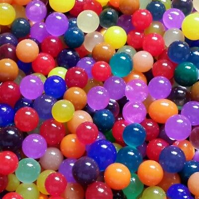 50pcs/set Crystal Magic Large Big Ball Soils Water Beads Gel Ball Wedding Decors