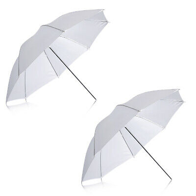 Neewer 2pcs Translucent White Soft Umbrella for Photo and Video Studio Shooting