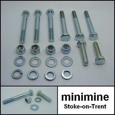 Classic Mini Late Rear Subframe Bolt Kit 1976> austin rover morris 998 1275 inj