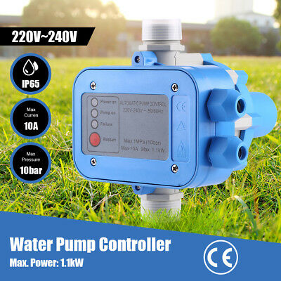 Electric Automatic Water Pump Pressure Controller Auto Control Electronic Switch