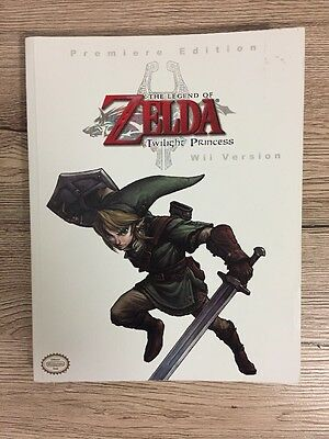 The Legend of Zelda Twilight Princess Premiere Edition Wii Strategy Game Guide