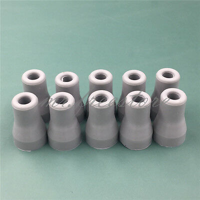 10pcs/bag Dental SE Saliva Ejector Replacement Rubber Valve Snap Tip Adapter new