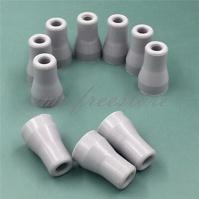 10XDental Saliva Ejector Weak Suction Rubber Snap Tip Adapter Replacement SALE!