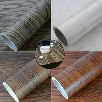 3M*60CM Furniture Refurbished Wood Waterproof Wallpaper Self-adhesive Sticker