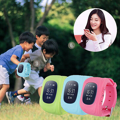 Anti-lost Child LBS Positioning Tracker Smart Wrist Watch Q50 For Android  IOS