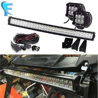 "30 32"" INCH Curved LED Light Bar Vehicle 2015 Ranger 900 ATV UTV UTE GOLF CART"