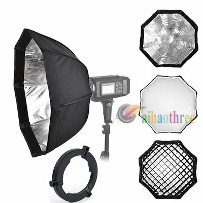 Godox 60cm Octagon Umbrella Softbox + Grid For AD600 AD600B AD600BM AD600M Flash