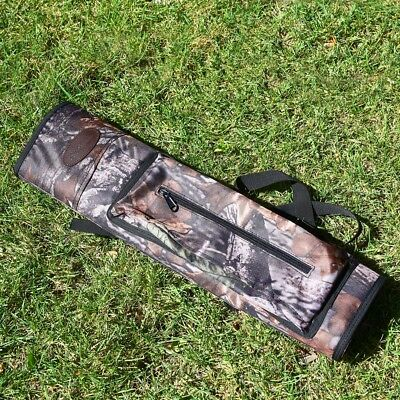 Adjustable Hunting Back Arrow Quiver Archery Bow Arrow Holder Belt Bag Pouch