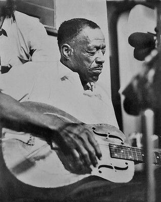 American Blues Singer EDDIE SON HOUSE Glossy 8x10 Photo Musician Poster Print