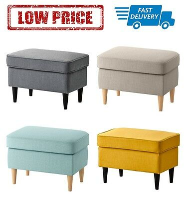 Tremendous Ikea Strandmon Footstool In 4 Colours 90 00 Picclick Uk Theyellowbook Wood Chair Design Ideas Theyellowbookinfo