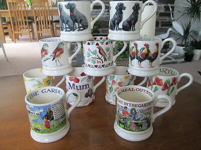 Emma Bridgewater Half Pint  Mug New Selection Choose Your Mug (Price  Per Mug)
