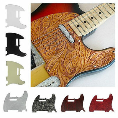 DIY Tele Style Electric Guitar Pick Guard Scratch Plate For Telecaster 8 Holes