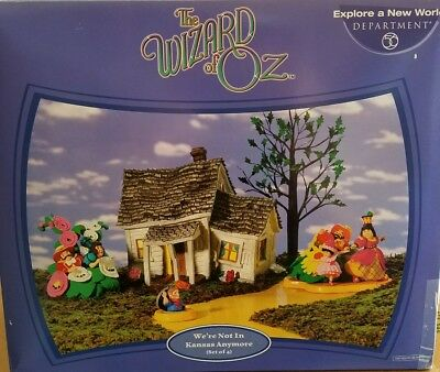 The Wizard Of Oz  We're Not In Kansas Anymore Department 56