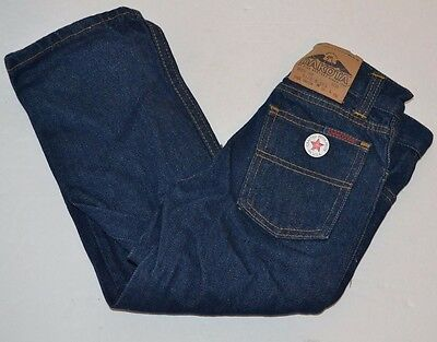 Vtg 1980's DAKOTA Five Brother BOYS Blue Jeans sz 5 USA Made