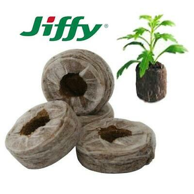 Jiffy 7 Propagation Peat Pellet  X 100 Pellets  For Starting Seeds & Cuttings