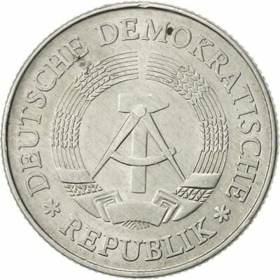[#468988] GERMAN-DEMOCRATIC REPUBLIC, 2 Mark, 1975, Berlin, SS+, Aluminium