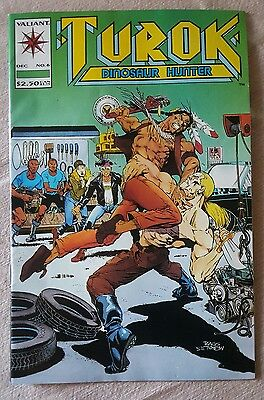 Turok, Dinosaur Hunter #6 (1993) NM Comic Book by Valiant Comics