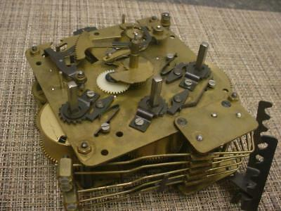 7003 A401-003 Seth Thomas Clock Brass Movement made by General Time D654a