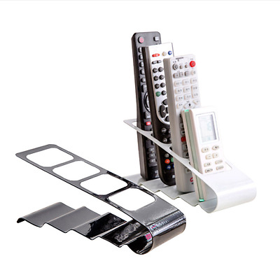 DVD TV Metal Holder Storage Caddy Organizer Tools Remote Control CellPhone Stand