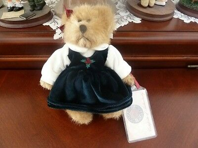 HALLEY 44742 Russ Berrie Teddy Bear Limited Vintage Edition with tags # 44742