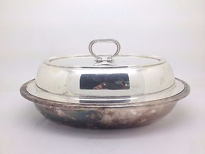 Gorham Silverplate Flat Handle Casserole Server