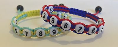 Phone number Child Safety Identity Bracelet Mix&Match Colours & Gift Bag