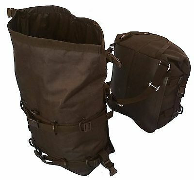 Motorcycle Panniers touring, expedition, enduro  - 30 & 20 litre soft saddlebags