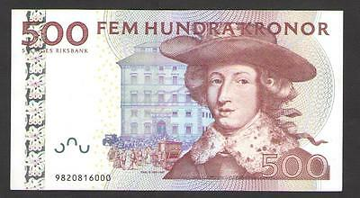 SWEDEN  500  KRONOR  1999  P 59b   Uncirculated