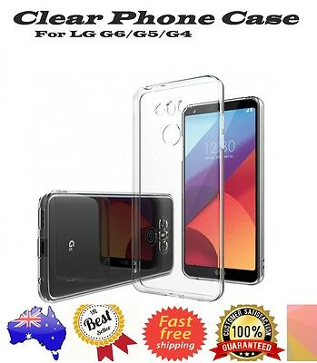Soft Clear Transparent Case Cover or Screen Protector  For LG G6 | LG G5 | G4
