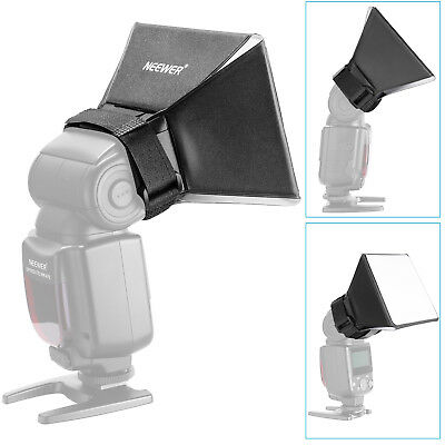Neewer Universal Foldable Flash Light Diffuser Softbox for Canon Nikon Sony DSLR