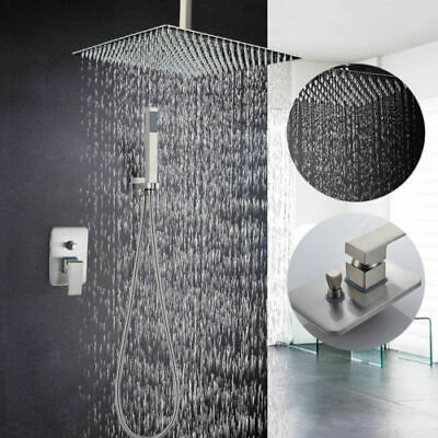 Stainless Steel Shower Panel Column Massage Body Jets Hand Shower Tub 53'' Sale
