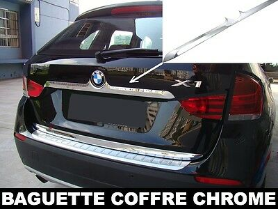 CHROME REAR TRUNK LID COVER DECO TAILGATE TRIM for BMW E84 X1 2009-2013 xDRIVE