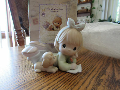 """Precious Moments Collectors Club """"FRIENDS WRITE FROM THE START"""" figurine"""