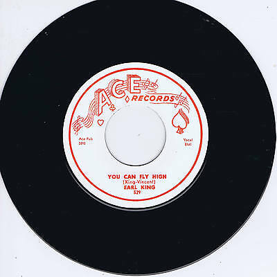 EARL KING - YOU CAN FLY HIGH / BABY YOU CAN GET YOUR GUN (New Orleans R&B JIVERS