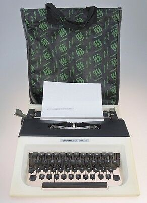 Olivetti Lettera 15 Portable Typewriter with case