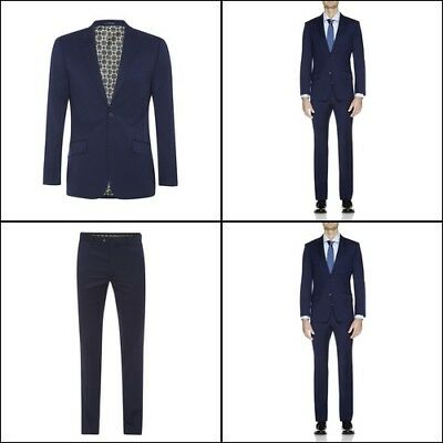 New Oxford HOPKINS PEAK LPL SUIT JACKET BLU X WITH MATCHING TROUSERS