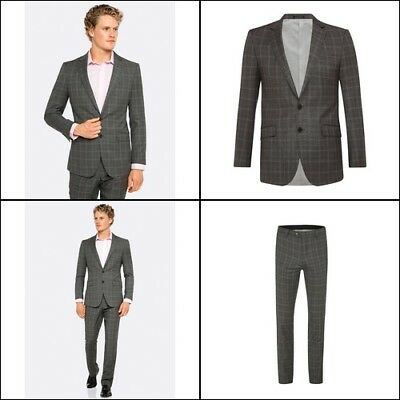 New Oxford NEW HOPKINS WOOL SUIT JACKET GRY X WITH MATCHING TROUSERS