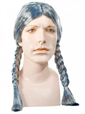 Native American Indian Hippie Willie Blonde Braids Lacey Wig Costume Lw173Bl