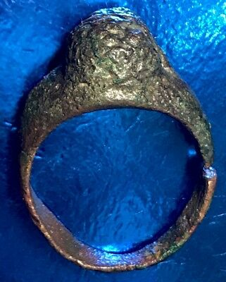 Ancient Roman Finger Ring. Authentic Artefact And Low Cost.