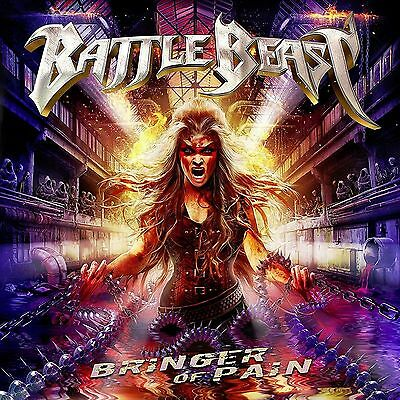 Bringer of Pain by Battle Beast +3 BONUS ltd diji BATTLE BEAST CD ( FREE SH)