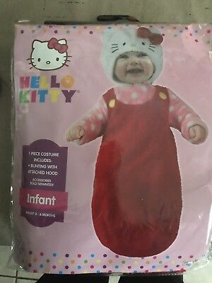 Hello Kitty infant Costume 0-6 Months