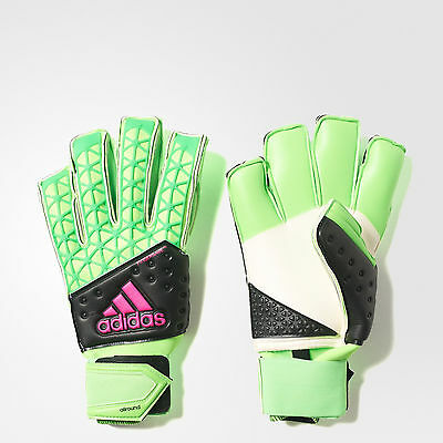 adidas Ace Zones Fingersave Allround Soccer Goalkeeper Gloves AH7807, Size 8