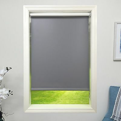 Roller shade 4 Ply Vinyl Blackout Blind Home Window Custom Made In Canada