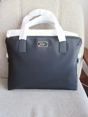 NWT Kate Spade New York Daveney Blake Avenue Satchel Laptop Book Nylon bag