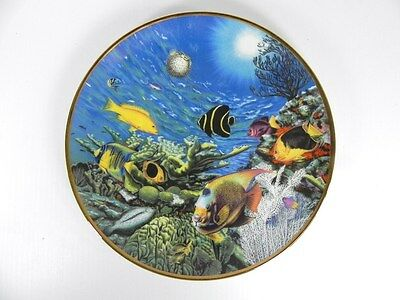 Hamilton Collection Caribbean Spectacle, Coral Paradise collector plate #0682A