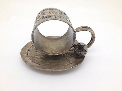 Meriden Silverplate Napkin Ring