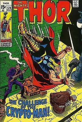 Thor # 174 March 1970 Marvel Comic