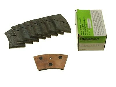 New Cleveland Brake Lining P/n 066-09000, Set Of 9, Twin Commander 690, 695, 840