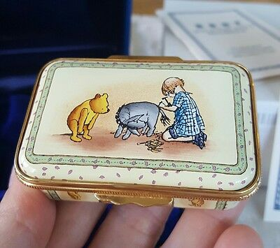 Halcyon Days Enamels Winnie the Pooh Fairly Certain Disney Box limited edition